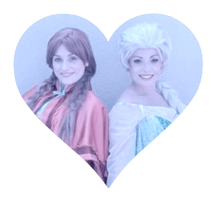 Come and see anna and Elsa in Rainham Essex!